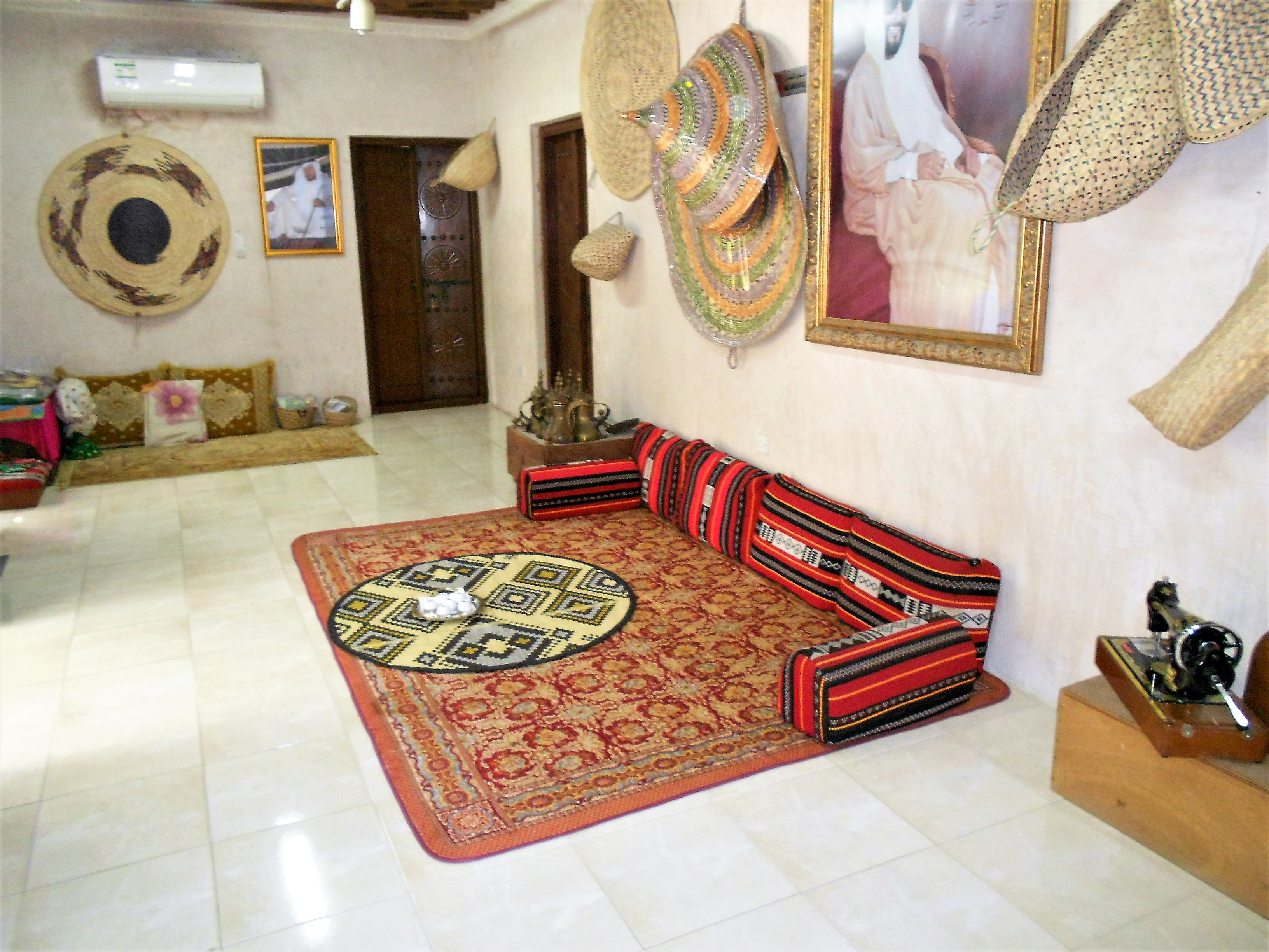 replica-of-the-interior-of-the-traditional-emirates-house-heritage-village