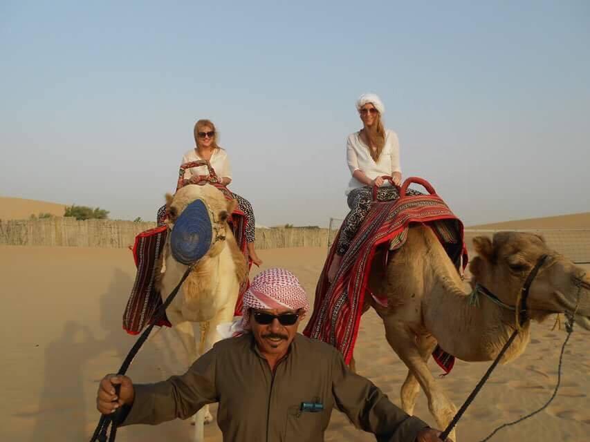 camel ride w Jelena