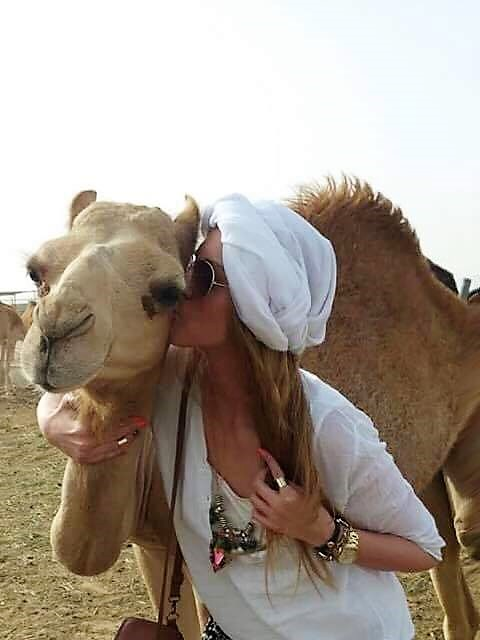 kissing the camel