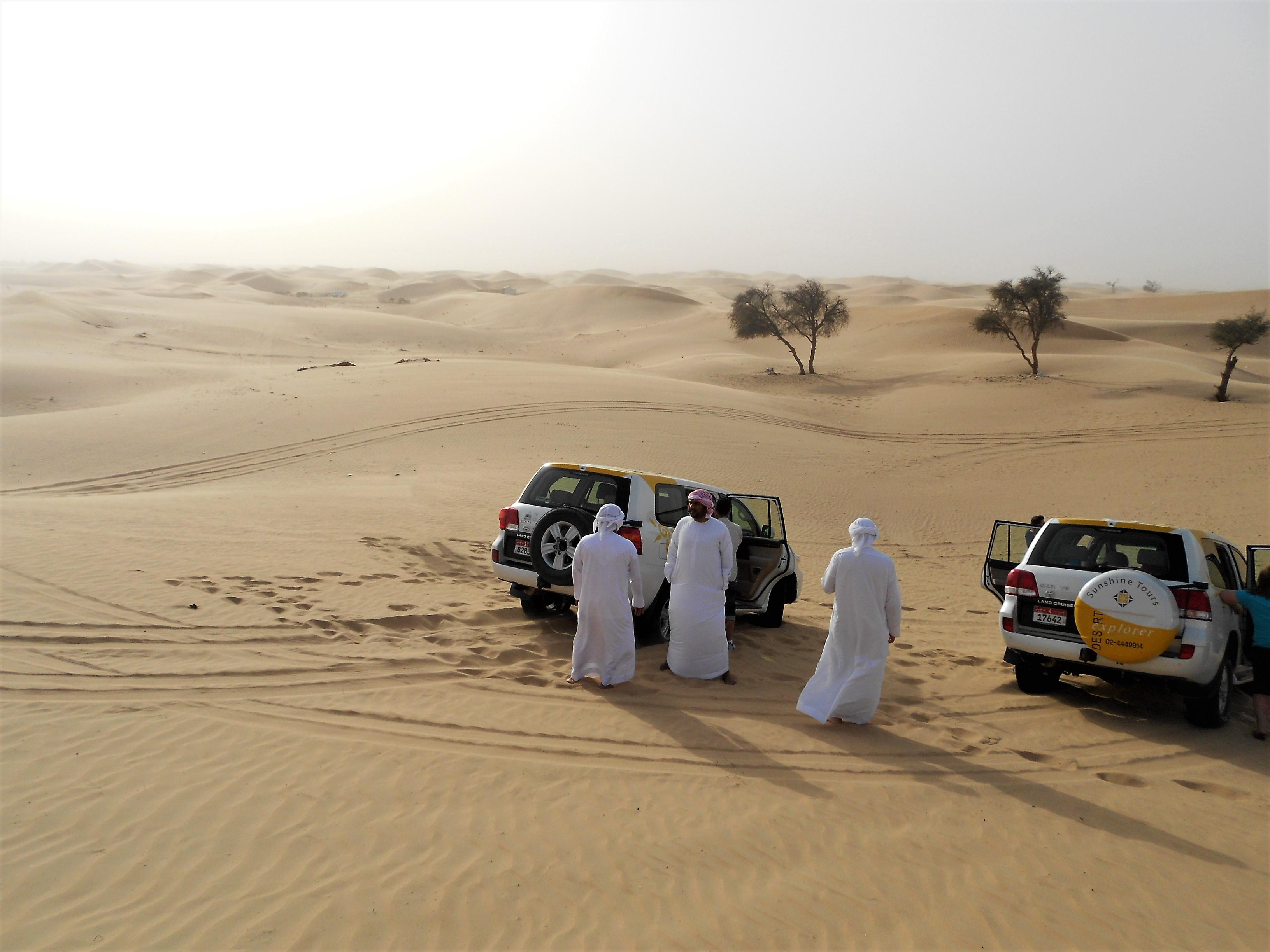 short break in the desert